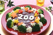 祝200回!ハンバーグdeケーキがいいね!!