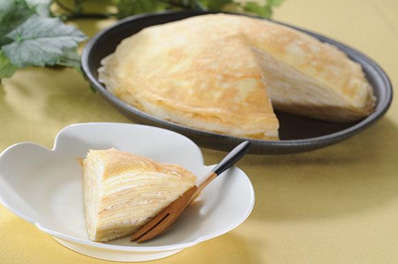 今週のうどんレシピ「うどんスープde簡単和風ミルクレープ」