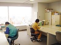 大林組の特例子会社「オークフレンドリーサービス」のオフィス
