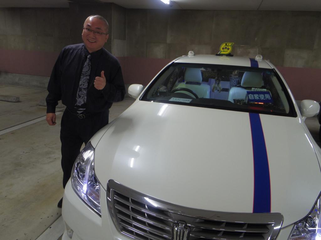 160229たまむすび(竹ガムタクシー車体)