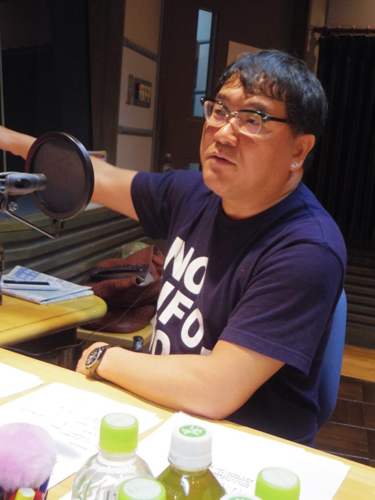 160307たまむすび(竹山Tシャツ)
