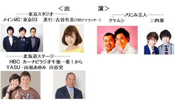 北海道新幹線特番