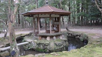 水音スケッチ 奈良公園の水音風景
