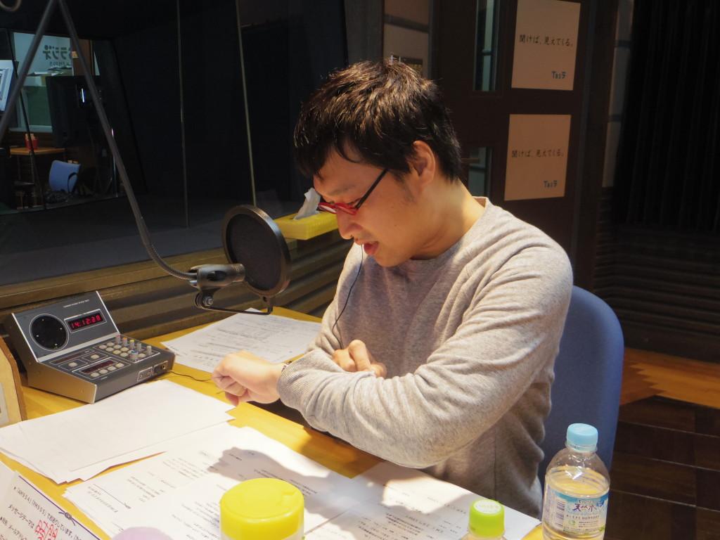 20160412たまむすび(山里時計)