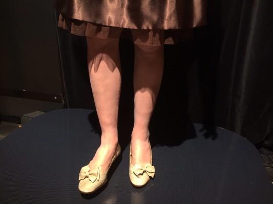 ▲前モデルから格段に進化したという脚。