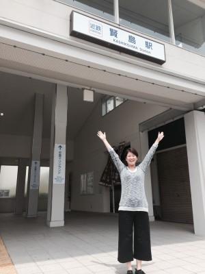 サミットを前にリニューアルした近鉄賢島駅!