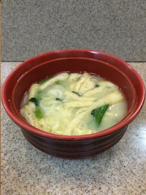 糀家「西京白みそ汁」の写真