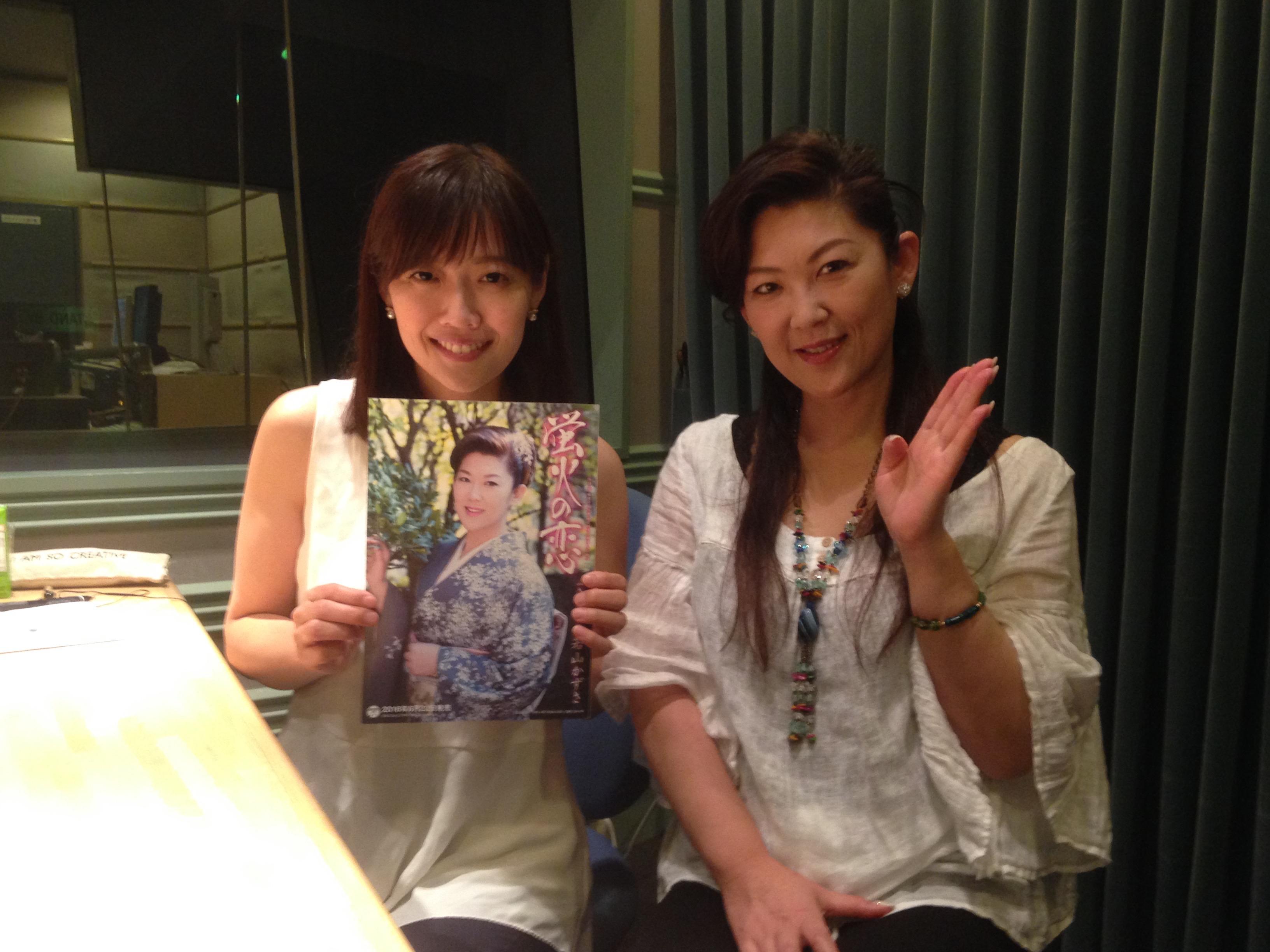放送中                                                                                    TBSラジオ FM90.5 + AM954                                                    放送中新曲「蛍火の恋」を発売した若山かずささん登場。                この記事の                番組情報            Fine!!