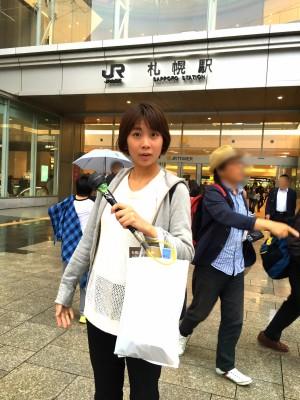 札幌で街頭インタービュー