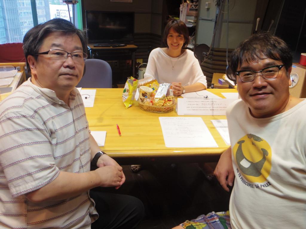 たまむすび20160711(赤江&竹山&小田嶋)