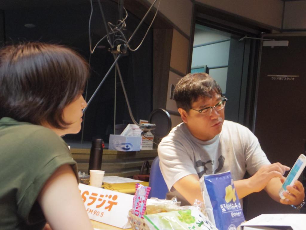 たまむすび20160725(赤江&竹山)