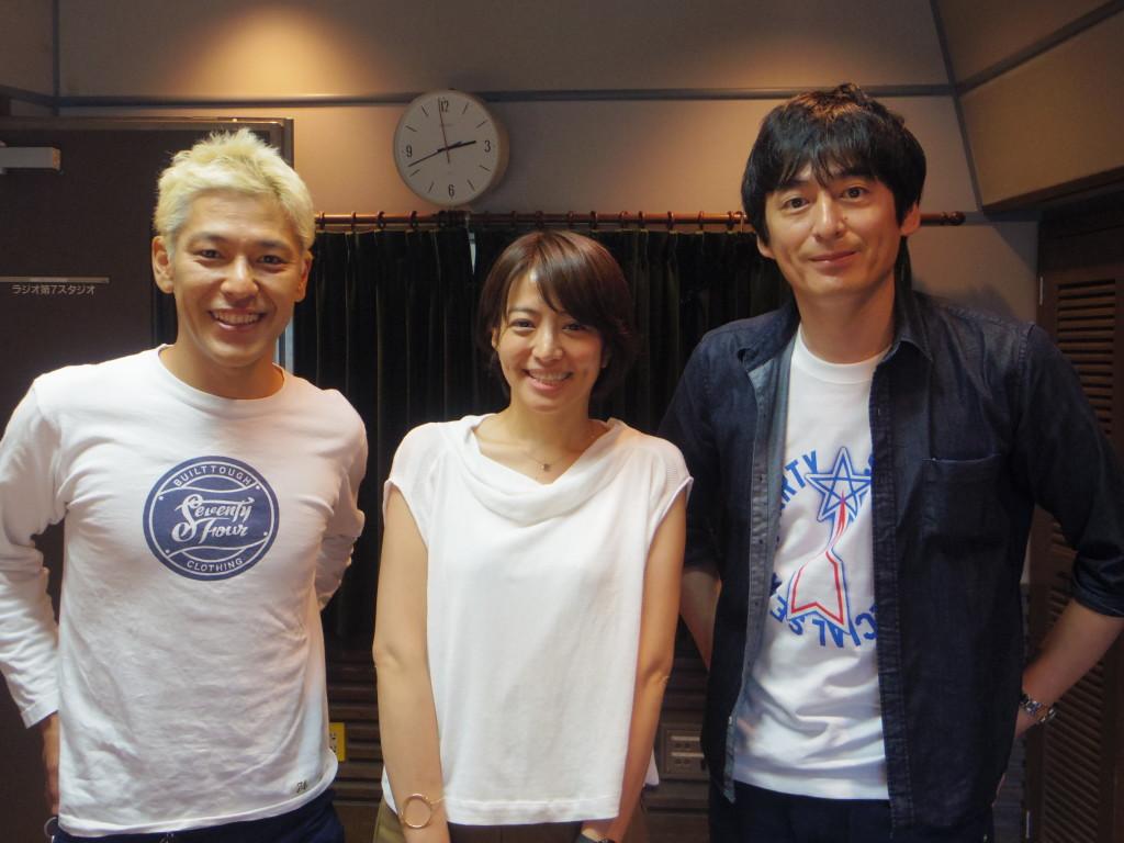 たまむすび160728(赤江珠緒&ロンブー亮&博多大吉)