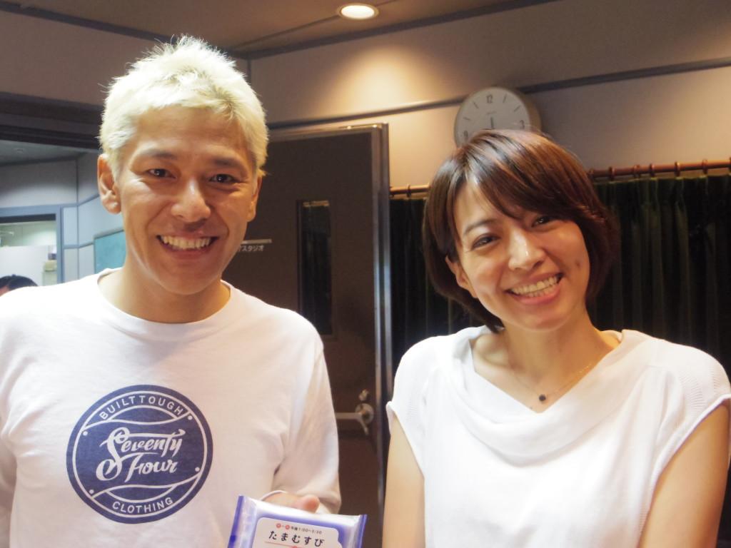 たまむすび160728(赤江珠緒&ロンブー亮)