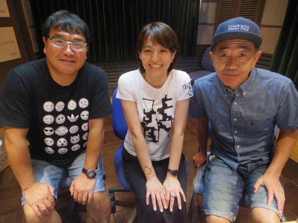 たまむすび20160822(赤江&竹山&木梨2)