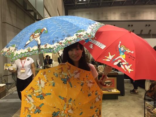 ▲傘、レトロで良い!小さいけど、、、