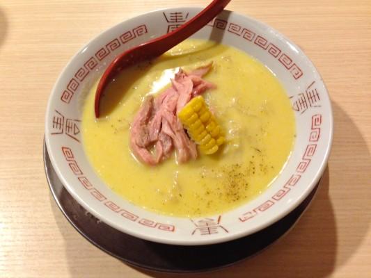 『麺や 七彩 東京駅』 「幻のトウキビの冷やし麺」