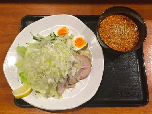 『広島流つけ麺 からまる』 「広島流 つけ麺(冷麺) 」