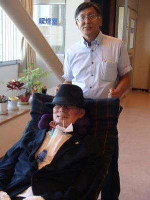 舩後さんと中川さん(右)