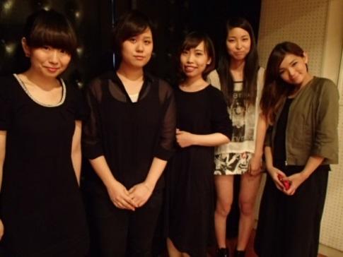 加藤優香さん(右端)