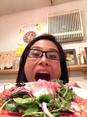 小倉さんも満足の一皿