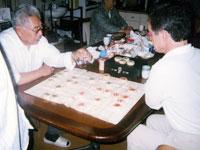中国の将棋を楽しむことも
