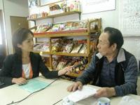 店主の木村さんにインタビュー