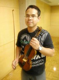 「インターナショナルめぐみオーケストラ」代表の木下ラファエルさん
