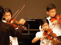 5月に大泉町で開かれたファミリーコンサートに子供達が出演。「歓喜の歌」などを披露しました。