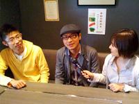 「にこまる食堂」で働く若者たちに山崎キャスターがインタビュー
