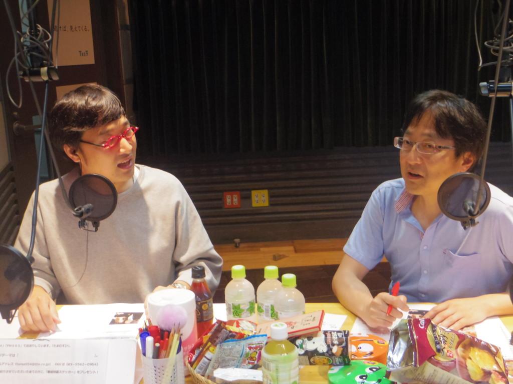 20160927たまむすび(山里&町山)