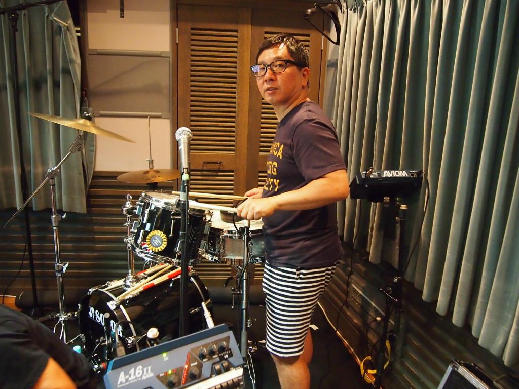 160904サンデー 田中ドラム