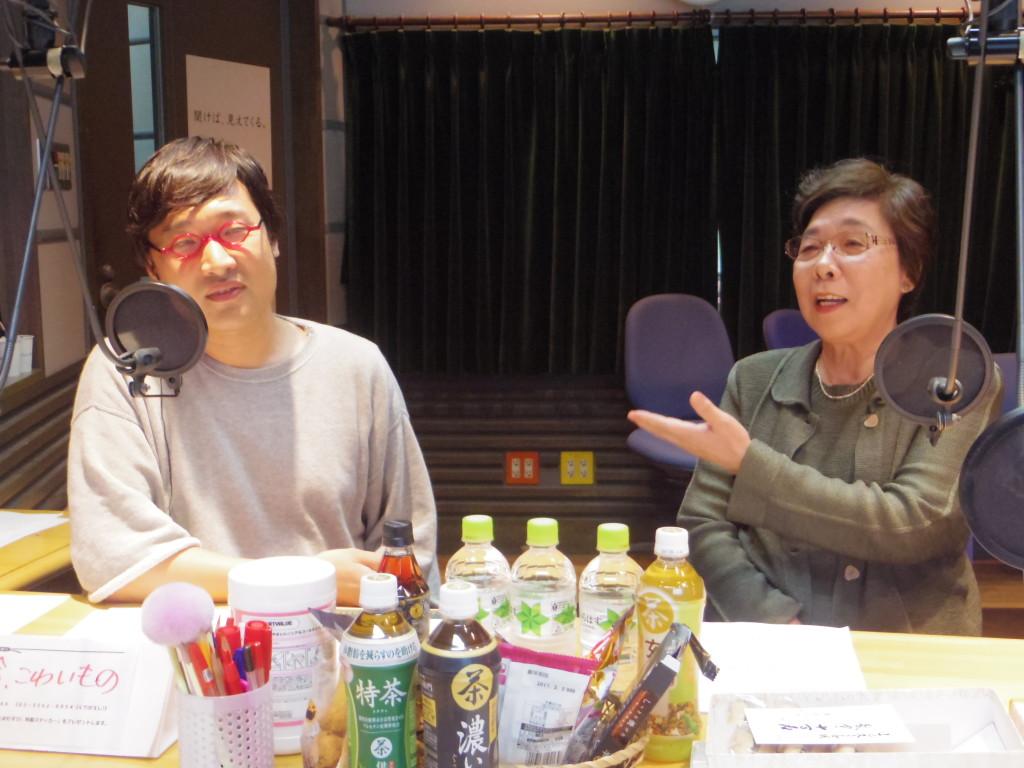 20161018たまむすび(山里&母)