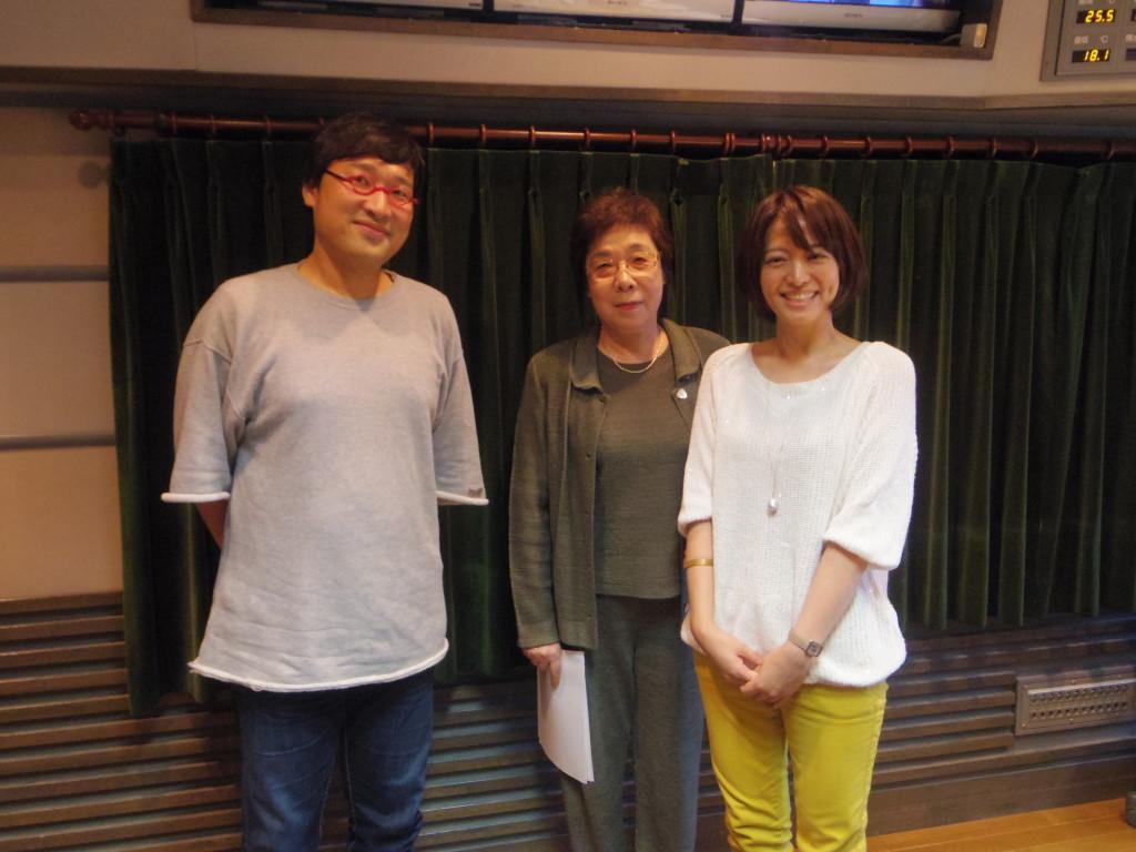 20161018たまむすび(赤江&山里&母)