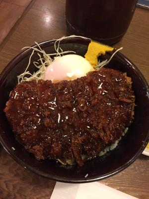 てって局員 名古屋のお店 味噌トンカツ丼
