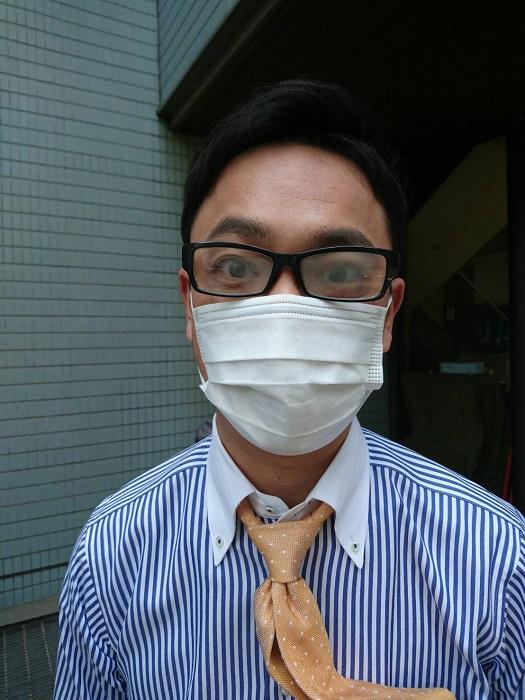 メガネにマスクでも曇らない術を試した結果定番のティッシュが一番
