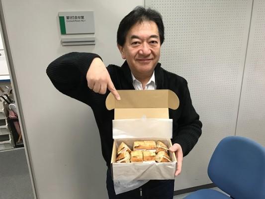 20170128 田中康夫さん差し入れ