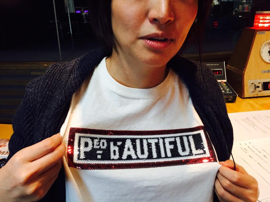170131たまむすび 赤江さんTシャツ