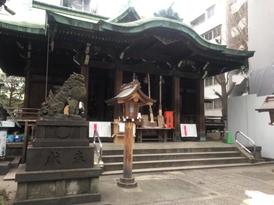 ▲鐵砲洲稲荷神社