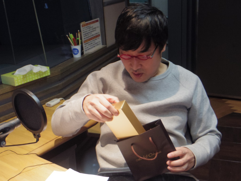 たまむすび20170214(山里&赤江チョコ)