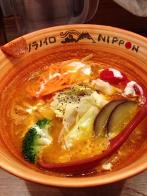 小倉さんが食べた「玄米麺ベジソバ」1050円
