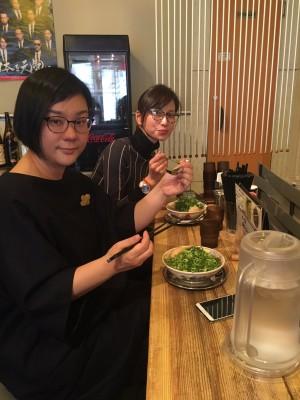 スー&小倉アナでラーキャベ取材に行ってきました。