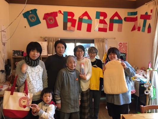 代表の桑原さん(真ん中)、中村さん(左から3人目)、横地さん(一番右)、他スタッフ