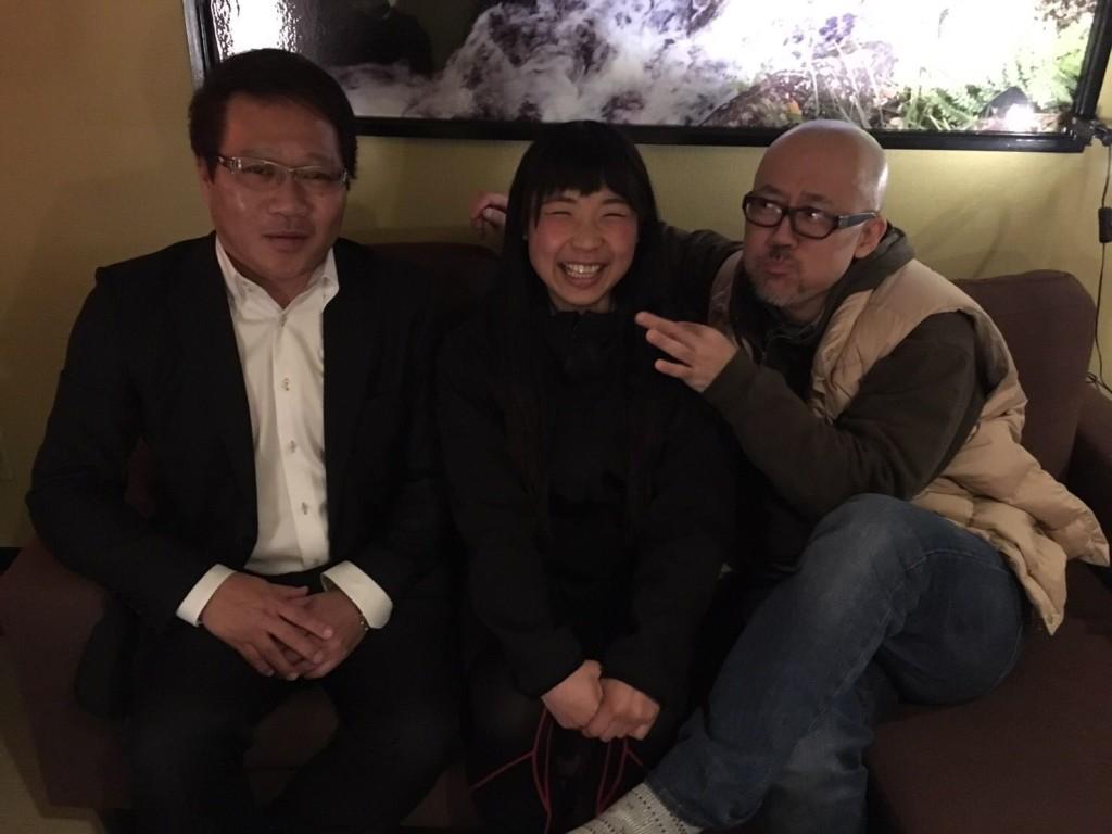 左:嶋野さん、中:まるゆか(ユメマナコ)、宮川賢