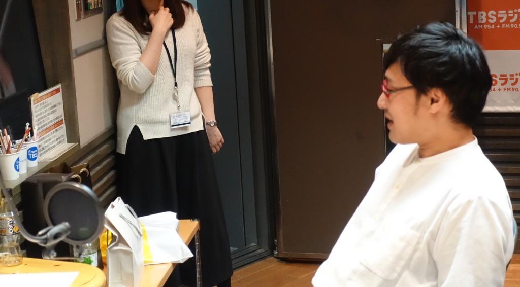 たまむすび20170411(山里&秘書)