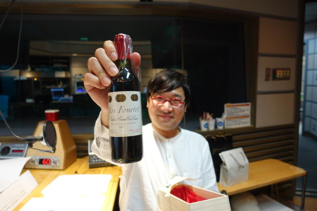 たまむすび20170411(山里&ワイン)