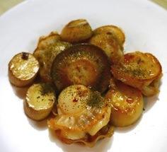 エリンギとホタテのステーキ(きのこ習慣)