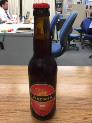 フランスビール「アルドウェン・チェリー」