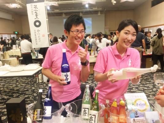 ▲神戸の酒蔵「酒心館」のみなさん