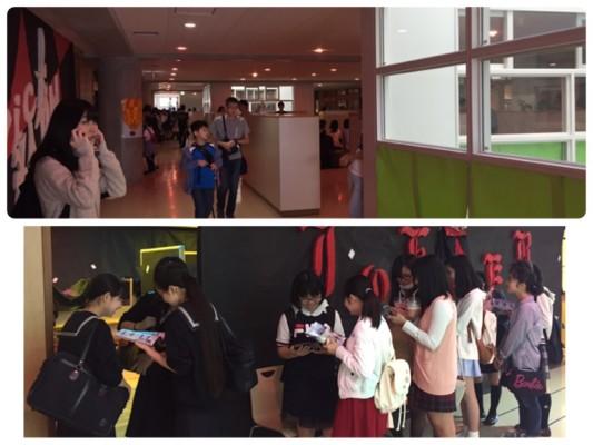 ▲聖光の歌舞伎町(笑)確かに女子高生は皆ここへ向かってました。