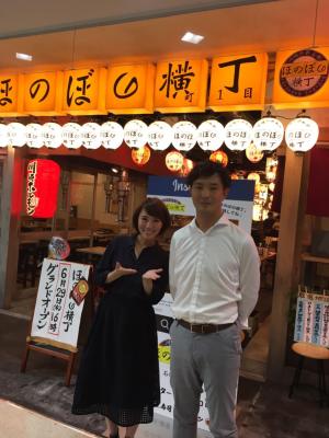 コロワイドMDの橋澤順さんと。